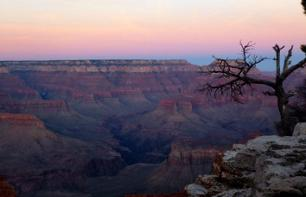 2 day trip with a night in a hotel in the heart of the Grand Canyon