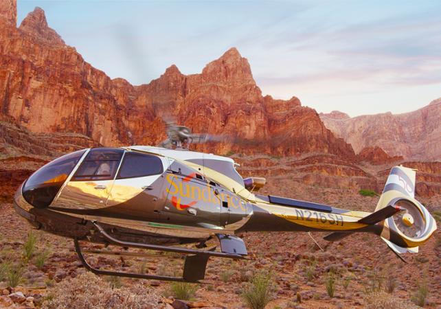 Photo Survol en hélicoptère : Grand Canyon, barrage Hoover et Las Vegas