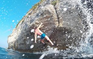 Climbing – Deep-Water Soloing and Diving in the Adriatic Sea in Split