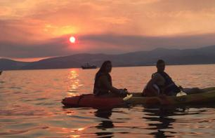 Kayaking and Snorkeling at Sunset - Split
