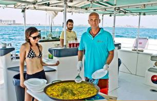 Catamaran Cruise & Paella Lunch – 5 Drinks Option