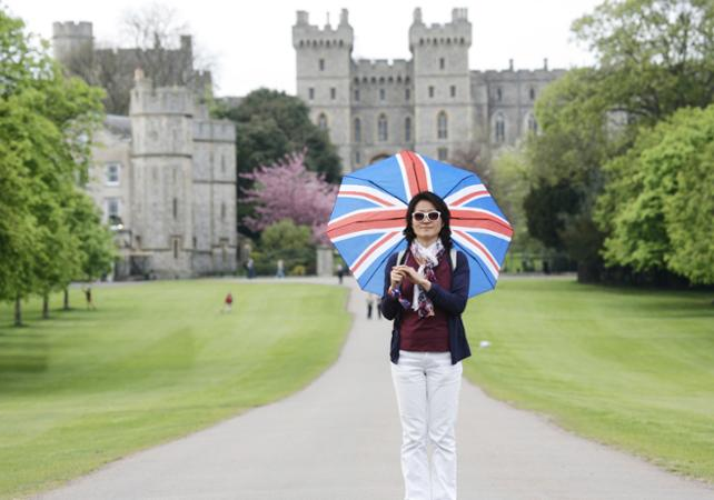 Photo Visite du Château de Windsor l'après-midi