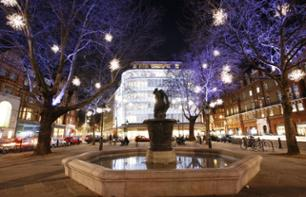Bus Tour of London's Christmas Lights, Dinner and Midnight Mass
