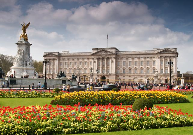 ,Buckingham Palace,Palacio + Tour en bus,Crucero Támesis,Thames River Cruise,Palacio de Buckingham