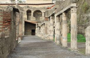 Visit the ruins of Pompeii and Herculaneum