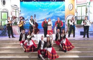 "Musical comedy based on ""La Tarantella"" in Sorrento"