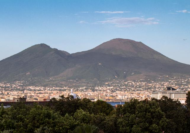 ,Excursion to Mount Vesuvius