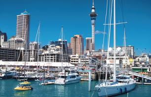 Guided tour of Auckland