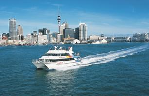 See Auckland in a day: guided tour, harbour cruise and access to the top of the Sky Tower