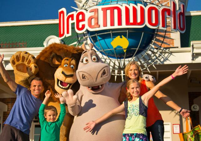 Billet pour le parc DreamWorld – transport inclus depuis Brisbane image 2