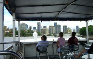 Brisbane Tour with Sightseeing Cruise & Ferris Wheel Ticket