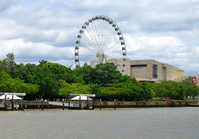 Tour de Brisbane avec croisière promenade & billet pour la grande roue image 2