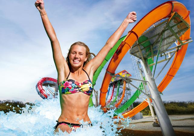 Billet pour le parc aquatique Wet'n'Wild – transport inclus depuis Brisbane image 1