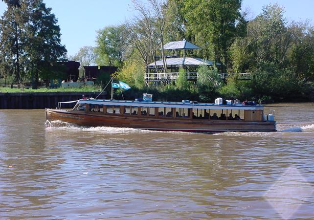 Expérience romantique à Buenos Aires : Excursion à Tigre, croisière sur le Paraná et déjeuner au bord du fleuve image 2
