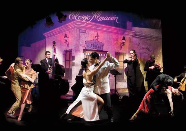 Spectacle de Tango Buenos Aires : Théâtre El Viejo Almacen image 3