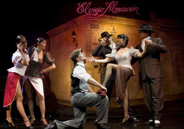Spectacle de Tango Buenos Aires : Théâtre El Viejo Almacen image 1