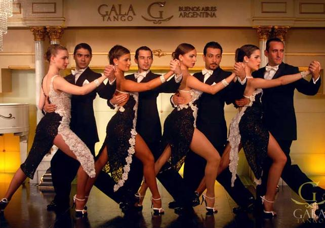 Tango lessons with dinner and a show image 3