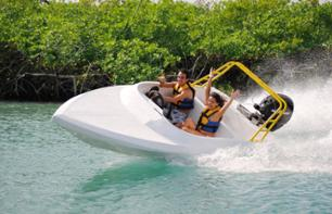 Speedboat Ride in the Mangroves & Snorkelling – Departing from Cancun/Playa del Carmen
