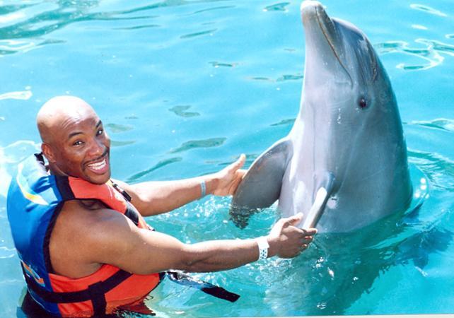 Photo Nage avec les dauphins à Isla Mujeres au départ de Cancun