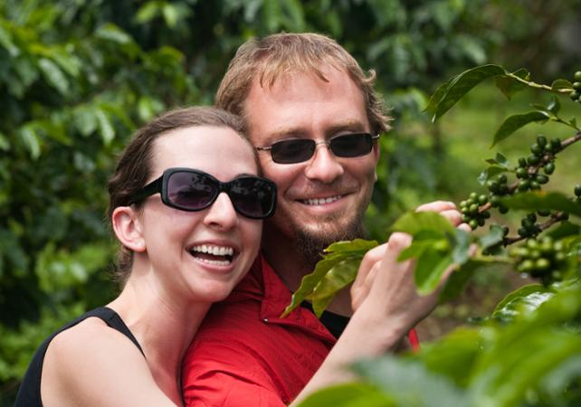 Visite d'une plantation de café au Costa Rica - San José (Costa Rica) -