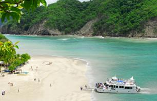 Paradise excursion: relax on the beaches of Turtle Island and cruise along the Nicoya Gulf