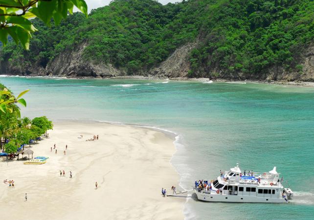 Excursion paradisiaque : détente sur les plages de l'Ile de la Tortue et croisière sur le Golfe de Nicoya - San José (Costa Rica) -