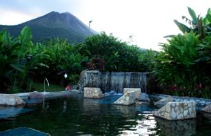 San José Relaxation Day: bathe in the Baldi hot springs + lunch and dinner with a view of Arenal volcano