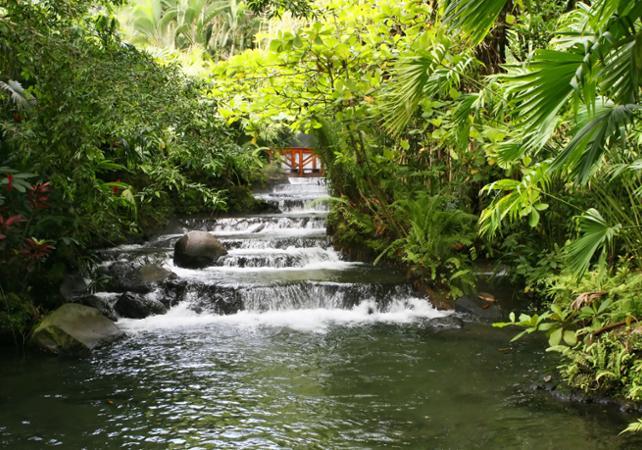 Baignade relaxante aux sources chaudes du volcan Arenal - San José (Costa Rica) -