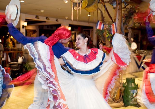 Soirée romantique : visite nocturne de San José et diner traditionnel - San José (Costa Rica) -