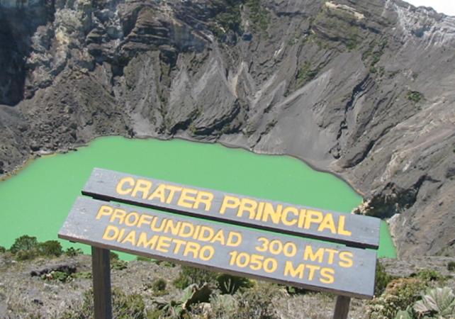 Balade au sommet du volcan Irazú, le plus haut volcan du Costa Rica - San José (Costa Rica) -