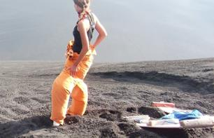 Private Excursion to the Cerro Negro Volcano and Sandboarding – Leaving from Granada