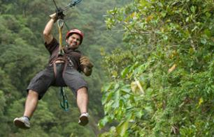 High-Wire Adventure Course on the Mombacho Volcano – Leaving from Granada