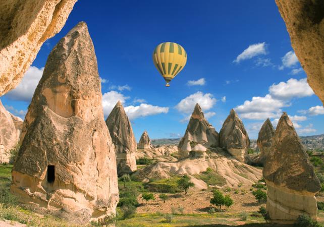 Excursion de 2, 3 ou 4 jours en Cappadoce - hôtel 4 étoiles et transport en avion - Istanbul -
