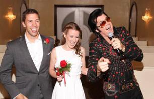 Wedding with Elvis at the Graceland Chapel (official, non official or vow renewal) - Las Vegas