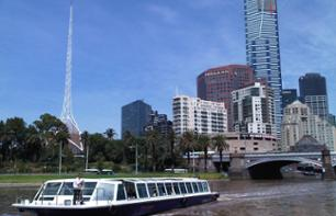 Best of Melbourne: Cruise, Guided Tour & VIP Dinner in a Tramcar Restaurant