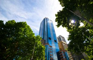 Tour of Melbourne City Center + Eureka Tower Ticket (optional)