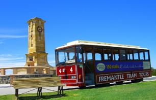 3-in-1 Tour: Guided Tour of Perth, Tram Tour of Fremantle and Cruise on the Swan River