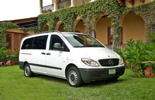 Private shuttle transfer : International Airport of Mexico -> Your hotel