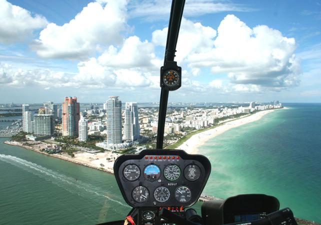 Photo Survol de Miami en hélicoptère