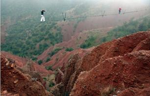 Excursion to Terres d'Amanar: High-wire, Zip-line and Abseil Adventure Tour – Departing from Marrakech