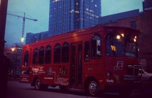 Night Tour of Nashville by Hop-On Hop-Off Bus