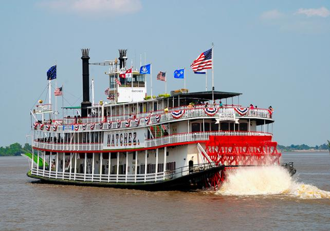 jazz cruise on the mississippi and lunch on the steamboat natchez - Bateau Mississipi