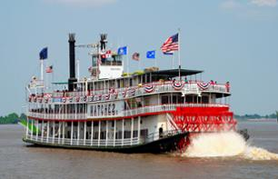 Romantic Evening in New Orleans: Dinner cruise on the Mississippi