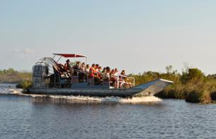 Airboat Swamp Tour – Transport from New Orleans included
