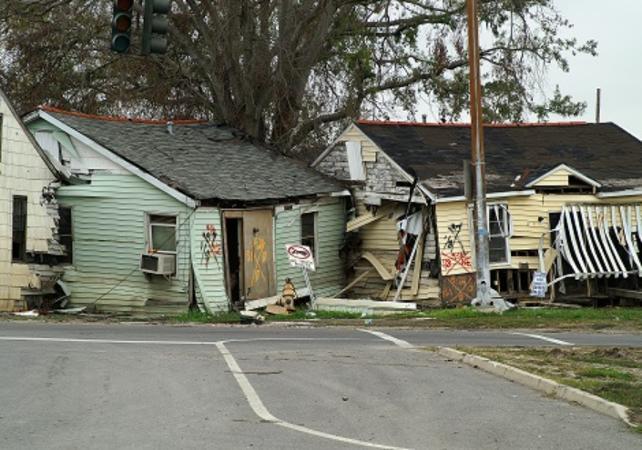 Tour des quartiers touchés par l'ouragan Katrina à la Nouvelle-Orléans - La Nouvelle-Orléans -
