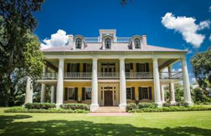 Guided visit of the Houmas House Plantation and Gardens - Departure from New-Orleans