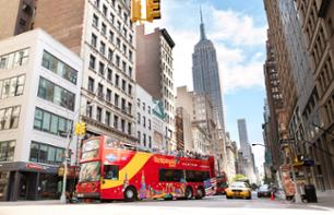 Visita di New York in bus hop-on hop-off - Pass 1, 2 o 3 giorni