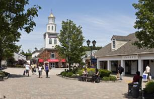 Shoppingtag in den Woodbury Common Premium Outlets