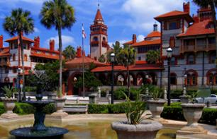 Visit St Augustine on foot, by trolleybus or by bus - Transport from Orlando