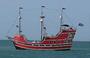 Cruise on a pirate ship at Clearwater Beach - Transport from Orlando included